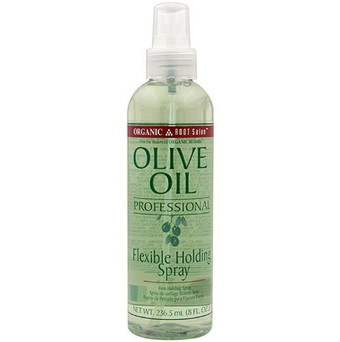 Price comparison product image Ors Organic Root Stimulator Olive Oil Professional Flexible Holding Spray,  8 Oz