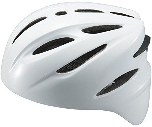 ZETT(ゼット) ソフトボール キャッチャー用 ヘルメット BHL40S ホワイト S