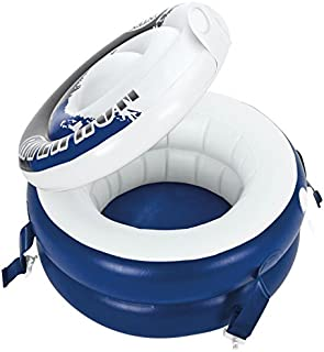 Intex River Run Inflatable Floating Cooler, Blue, 22.5 inches, 56823NP