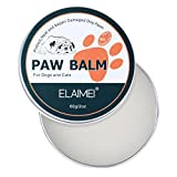 ELAIMEI Dog Paw Wax (2 Oz) - Natural Paw Balm for Dogs Heal and Repair Damaged Dog Paws, Pet Paw Protection Against Heat, Hot Pavement, Sand, Dirt, Snow for All-Season.