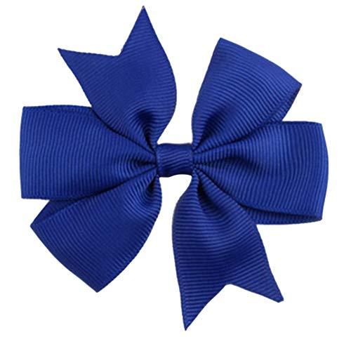 Demarkt Niedlich Schleife Haarclips/Haarspangen Haarschmuck Ribbon Haar-Clips Für Mädchen,Blau
