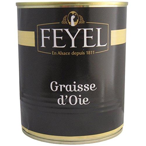 Feyel Gänsefett 730g Dose