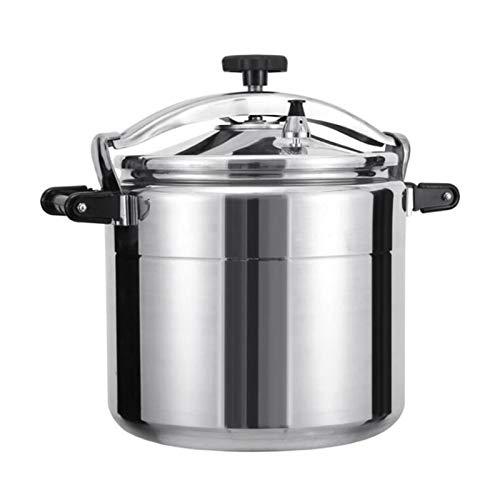 Schnellheizungsgasdruckkocher, Aluminiumdruckkocher mit Sicherheitsventil, 11L-50L großer Kapazität Hochdruckkocher-Slow-Kocher-Dampfer-Stockpot, kommerzieller Haushaltsmultifunktionsdruckkocher für d
