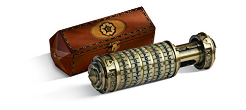 La Noble Collection Da Vinci Code Cryptex, échelle 1: 1, †, Accessoire, réplique (Accessoire de Costume)