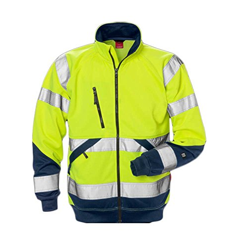 Kansas High Vis Sweatjack KL. 3 7426 SHV.