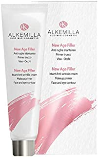 ALKEMILLA - New Age Filler - Instant Anti-Wrinkle Serum - Distensive and Immediate Repellent Action - Ideal as Primer Face and Eye Make-up - AIAB Certified, LAV, QC, Vegan - Nickel Tested - 15 ml