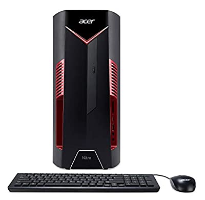Acer Nitro 50 N50-100-UR11 Desktop, 8GB DDR4, 1TB HDD, Windows 10 Home