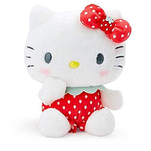 Strawberry Hello Kitty Melody Melody Peluche Colgante Pudding Doll Niños Pareja regalo de cumpleaños 20 cm