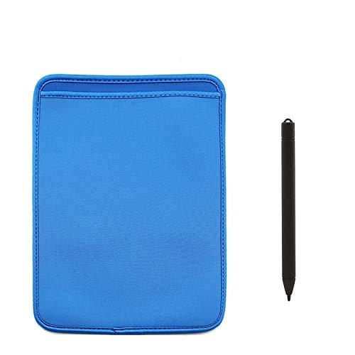 Tableta de escritura recargable Tablero de dibujo para niños Tableta digital LCD Borrado parcial Almohadillas de escritura a mano Tablero de tableta electrónica portátil 12inchcase