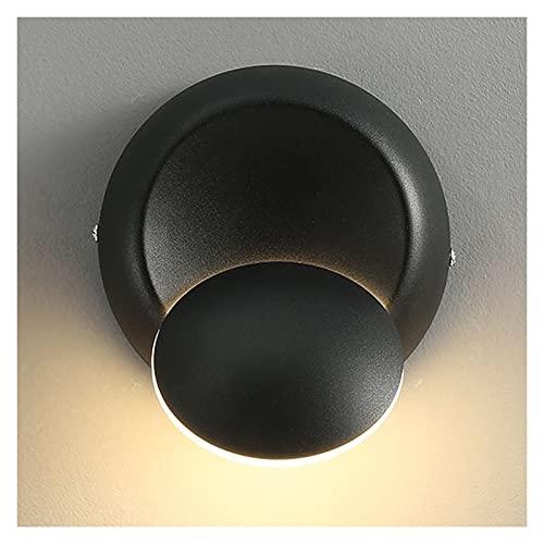 Apliques de pared LED contemporáneo moderno Lámparas de pared apliques puede girar 360 grados libremente Salón Dormitorio metal ligero de la pared del accesorio de iluminación Genérico (blanco blanco