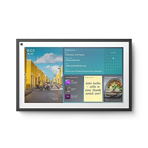 Wir stellen vor: Echo Show 15   15,6-Zoll-Smart Display in Full HD, für ein organisiertes Familienleben mit Alexa*
