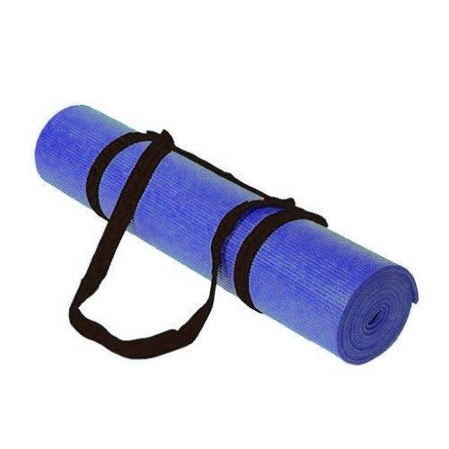 Kabalo Yogamatte 183cm x 61cm - Standard Yoga-Matte Mit Trageriemen, sehr empfehlenswert für Anfänger! - Blau