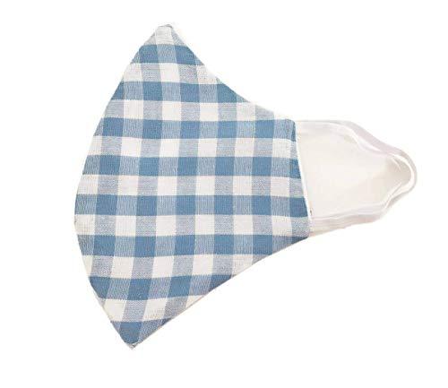 TryPinky® Handmade Mundbedeckung Mund- und Nasen-Maske mit Gummiband waschbar bis 90 °C kochfest