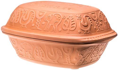 Römertopf 10905 - Fuente de cerámica con tapa, 1.5 L
