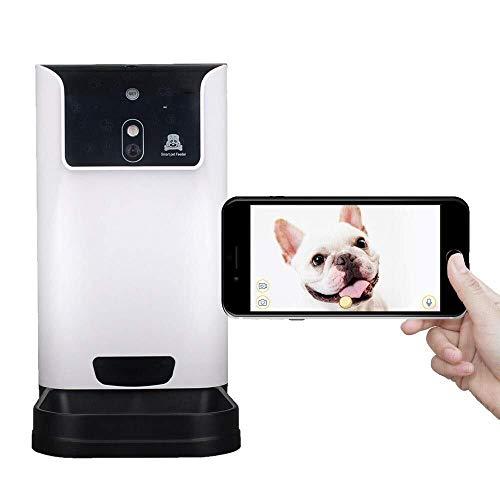 Warm huis huisdier automatische feeder kat hond timing bestellen voeden voedsel feeder kan worden stem video nice