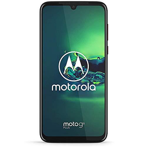 Motorola Moto G8+ Plus (64GB, 4GB) 6.3', Snapdragon 665, 48 MP Camera, 4000mAh Battery, Dual SIM GSM Unlocked (at&T/T-Mobile/MetroPCS/Cricket/H2O) XT2019-2 - International Version (Red, 64 GB)