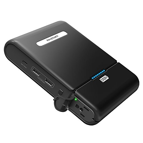 AC Outlet Portable Laptop Charger, RAVPower 27000mAh Power Bank 85W (100W Max) Outdoors Travel Laptop External Battery Pack Compatible with HP, Notebooks, MacBook and Other Laptops