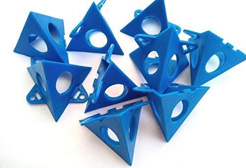 haus & garten 20 Stück Malerpyramide Malerpyramiden Malerhilfe Ständer Malerbedarf Malerhilfe