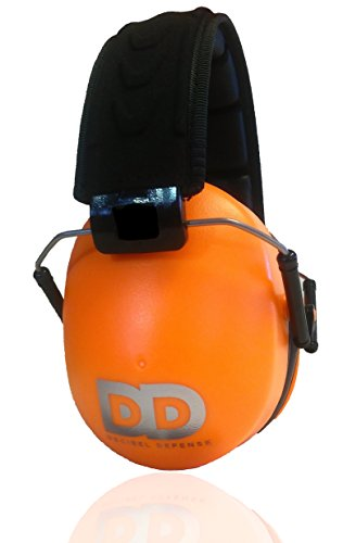 Professional Safety Ear Muffs by Decibel Defense - 37dB NRR - The HIGHEST Rated & MOST COMFORTABLE Ear Protection For Shooting & Industrial Use - THE BEST HEARING PROTECTION GUARANTEED