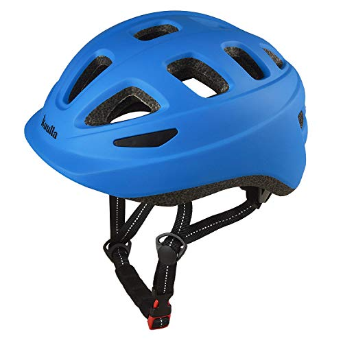 Toddler Bike Helmet Sport Helmets for Kids 3-10 Adjustable Bicycle Helmets for Boys and Girls Cycling Skating Scooter (Blue, S(20-22 inch))
