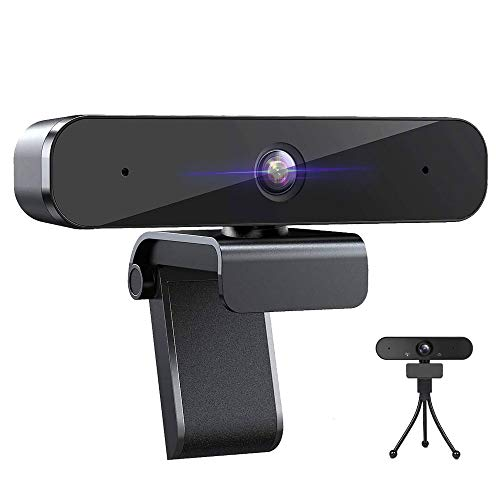 Webcam with Microphone 1080P HD - for Streaming Conference Recording Gaming Online Classes, Desktop Laptop, Windows Mac OS