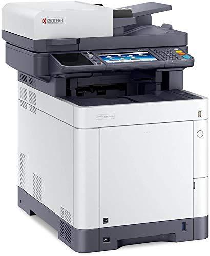 Kyocera Klimaschutz-System Ecosys M6635cidn 4-in-1 Farblaser Multifunktionssystem, Drucker, Kopierer, Scanner, Fax, Touchpanel, Mobile Unterstützung