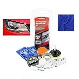 sweetlife Renovateur Phare Voiture Kit, Rénovation Optique de Phare Kit de Polissage Lustreur Réparation Headlight Restore Auto par