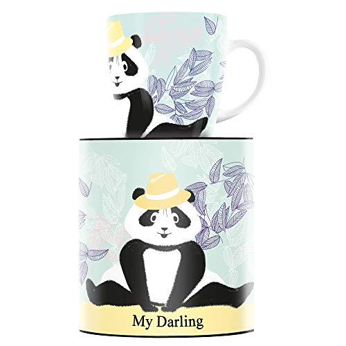 RITZENHOFF My Darling Kaffeebecher von Véronique Jacquart, aus Porzellan, 300 ml, mit trendigen Motiven