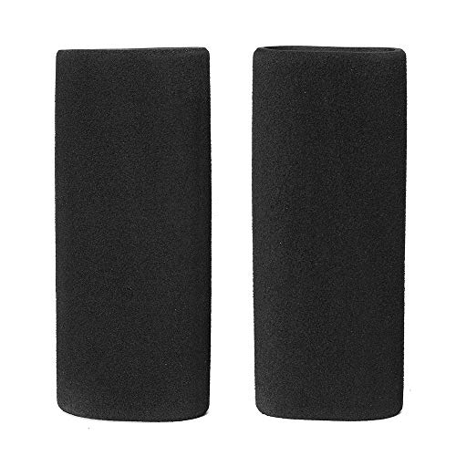 Pair Motorcycle Handlebar Grip Covers Anti-vibration Anti-slip Internal Diameter 31.7-36.8mm Motorcycle Accessories