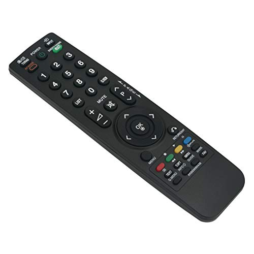 VINABTY AKB69680438 Telecomando di ricambio per LG LCD LED TV 19LH2000 22LU4000 22LU5010 26LH2000 26LU5020 32LF2500 32LF2510 32LG2100 37LG2100 37LH2000 37LH3000 37LH3010 69710900010S 69710T00017Q