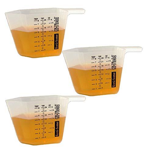 Vpg Fertilome 11008 4-Ounce Measuring Cup (3 Pack) (3)