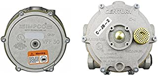 JB-2 Vaporizer Regulator Century and VFF30-2 Impco Filter Lockoff Combo Kit LPG Gas Forklift Trucks
