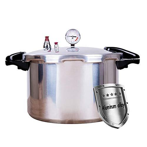 LBJYDGE Tanque de presión de presión de presión Tanque de presión Grande Capacidad de Aluminio rápido Estufa de Cocina Gas Estufa General Cocina