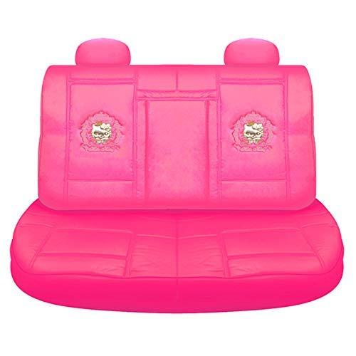 Hello Kitty Housse de siège arrière : Faux Cuir en PVC Haut de Gamme (Princesse Kitty)