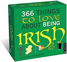 BUY ONE 2020 366 THINGS TO LOVE ABOUT BEING IRISH DESK CALENDAR AND GET A FREE YEAR PLANNER AND 4 FREE HANDMADE XMAS CARDS(TWENTY FIVE DOLLAR VALUE)- YOU CAN ALSO ORDER A CALENDAR PLANNER 2019-20