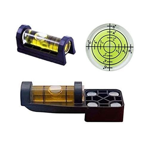 3PCS Gunsmith Level Rifle Scope Magnetic Level Engineering Bubble Spirit Level Scope Mounting...