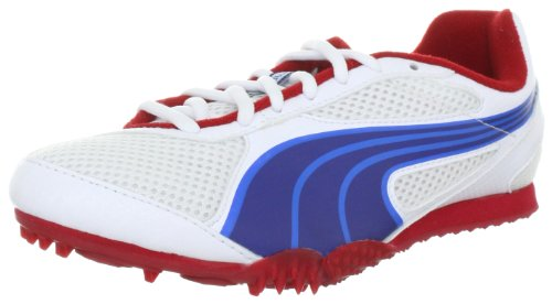 Puma Unisex - Calzado de Running y Deportivo, tamaño 42, Color Blanco/Azul/Rojo