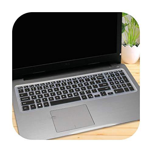 Silikon-Schutzhülle für Laptop mit 15,6 Zoll (39,6 cm), für DELL Latitude 3500 3550 3560 3570 3580 3590 Pc Laptop, Schwarz