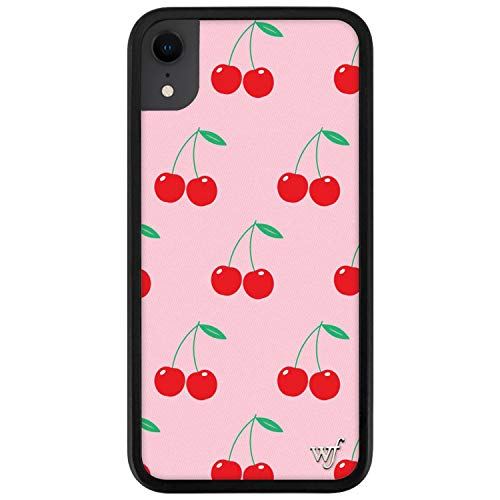 Wildflower Limited Edition Cases Compatible with iPhone XR (Pink Cherries)