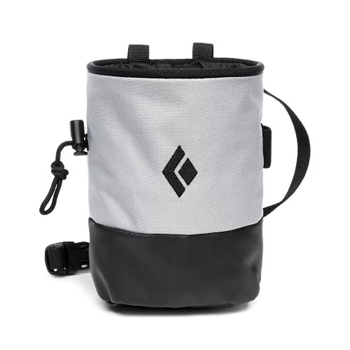 Black Diamond Mojo Zip Chalk Bag Größe M-L Pewter