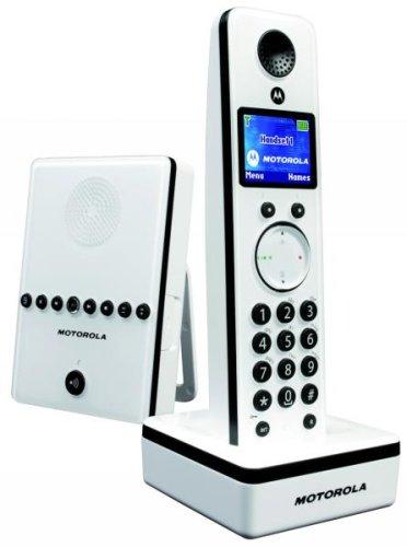 motorola MOTOLIVN D811 - Schnurlostelefon mit Anrufbeantworter + Anruferkennung - DECTGAP
