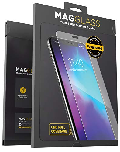 Magglass iPhone 11 Tempered Glass Screen Protector - Anti Bubble UHD Clear Full Coverage Display Guard (Case Compatible)