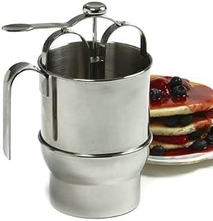 Norpro 18/10 Stainless Steel Jumbo 4 Cup Pancake Waffle Batter Pitcher Dispenser