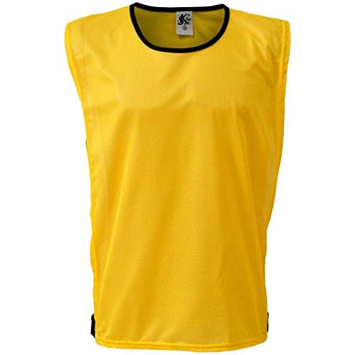 Colete Esportivo de Futebol - Cor Amarelo - Kanga Sport