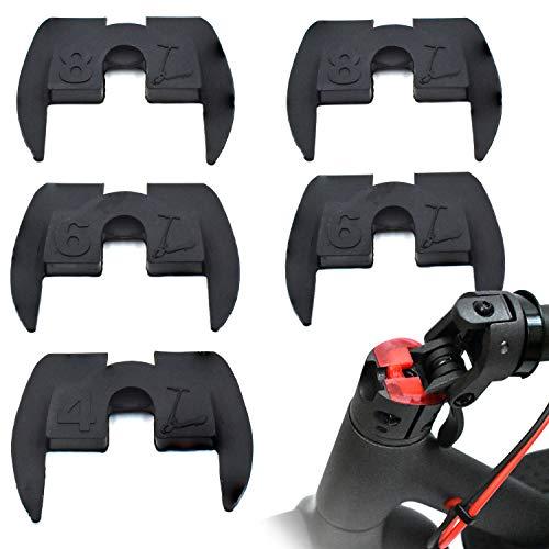 myBESTscooter - Kit de 6 Piezas de Goma para Amortiguador de Vibraciones para los Modelos M365, 1S, Essential, Pro del Patinete eléctrico Xiaomi