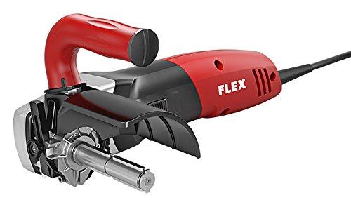 Flex 433411 BSE 14-3 Satiniermaschine BSE14-3 100, 880 W, Schwarz, Rot