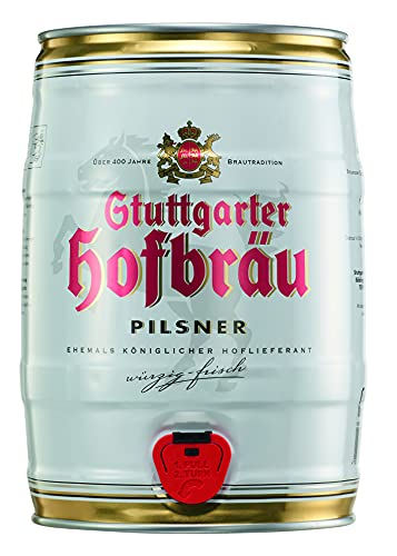 Stuttgarter Hofbräu Pilsner Partydose, pfandfrei 1x5,00 L