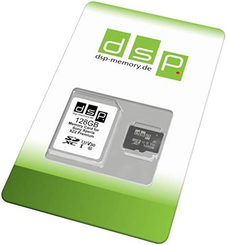 Preisvergleich Produktbild 128 GB Speicherkarte (A1,  V30,  U3) für Sony Xperia XZ2 Premium