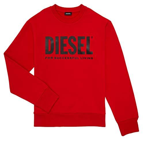 Diesel Screwdivision Logo Sweatshirts Und Fleecejacken Jungen Rot - 12 Ans (12 Jahre) - Sweatshirts Sweater