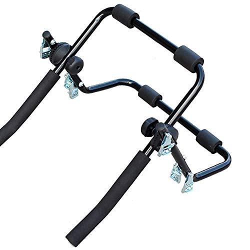 Kompaktowe bagażniki na 2 rowery do samochodów ciężarowych SUV, 2 bagażniki na rowery, inteligentne odchylanie w stylu tacy